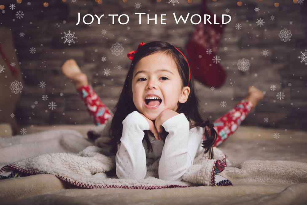 Christmas mini portrait sessions Dublin - 4 year old smiling