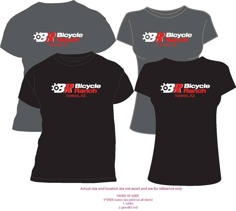 Bicycle Ranch T-shirts 2014