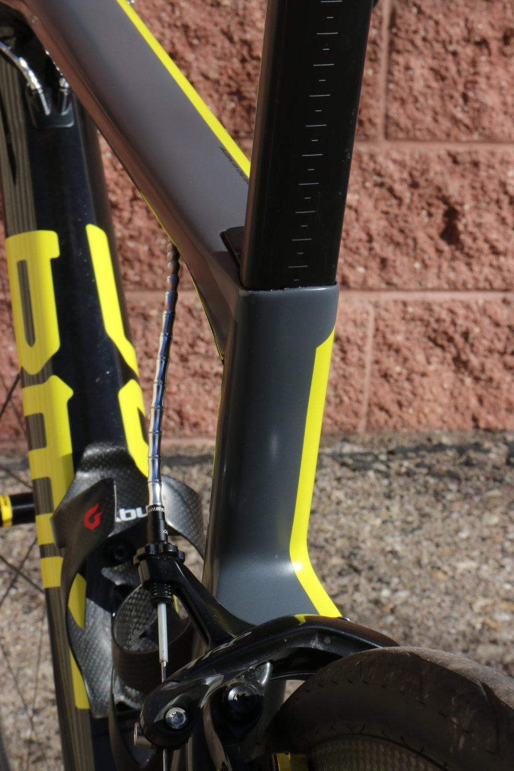A flat back seat post helps deflect the vibration and dampen it before it reaches the rider.