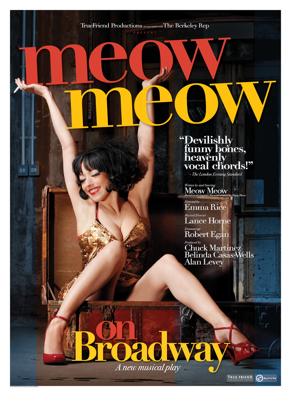 Meow Meow on Broadway