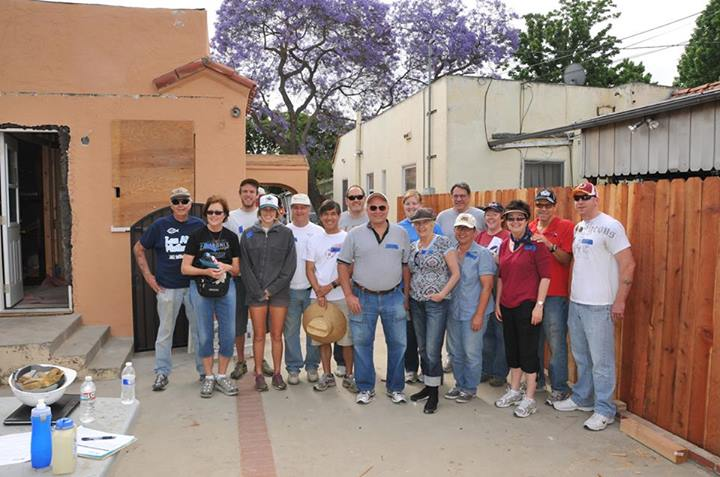 The Los Altos United Methodist Church Habitat for Humanity team.