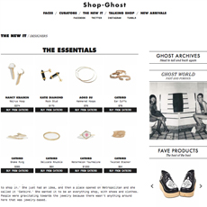 SHOP-GHOST // The New It Designers