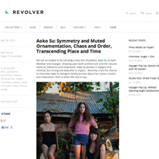 REVOLVER Blog // Interview