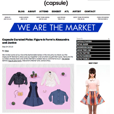 CAPSULE Blog // WE ARE THE MARKET // Capsule Curated Picks