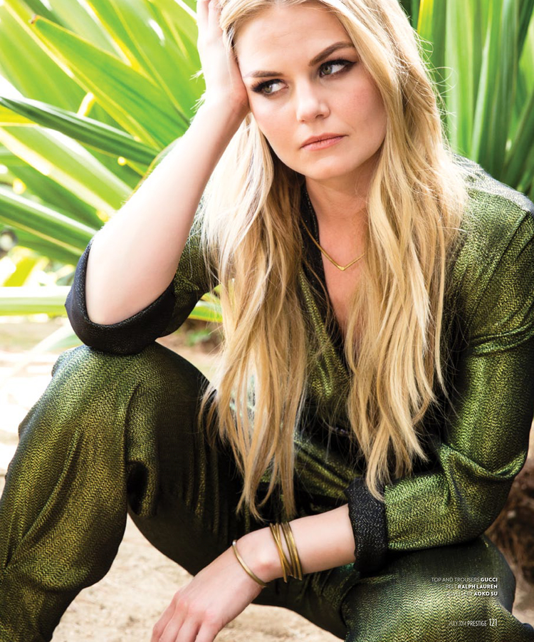 Jennifer Morrison for Prestige Hong Kong
