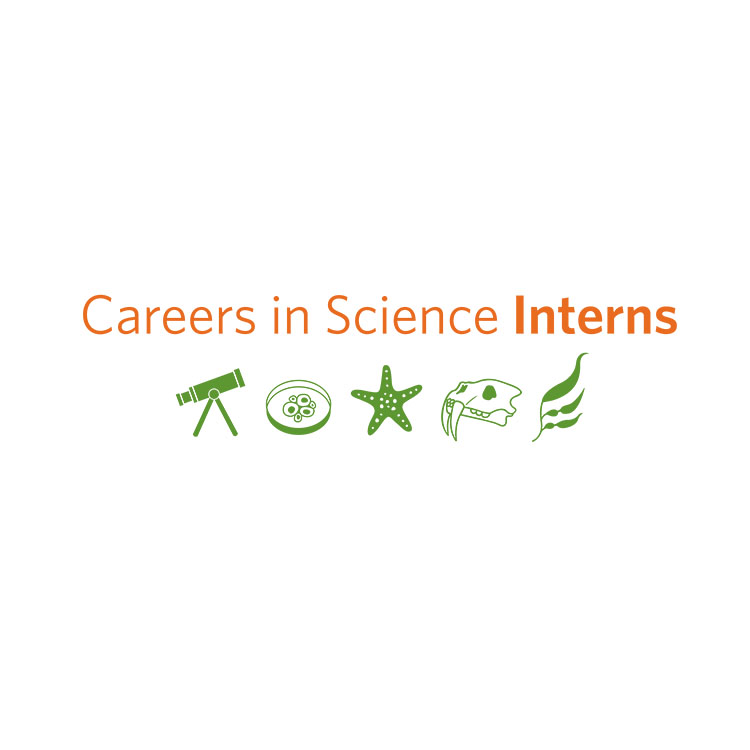 Careers in Science Interns is a program that gives high school students exposure to different science careers in preparation for college