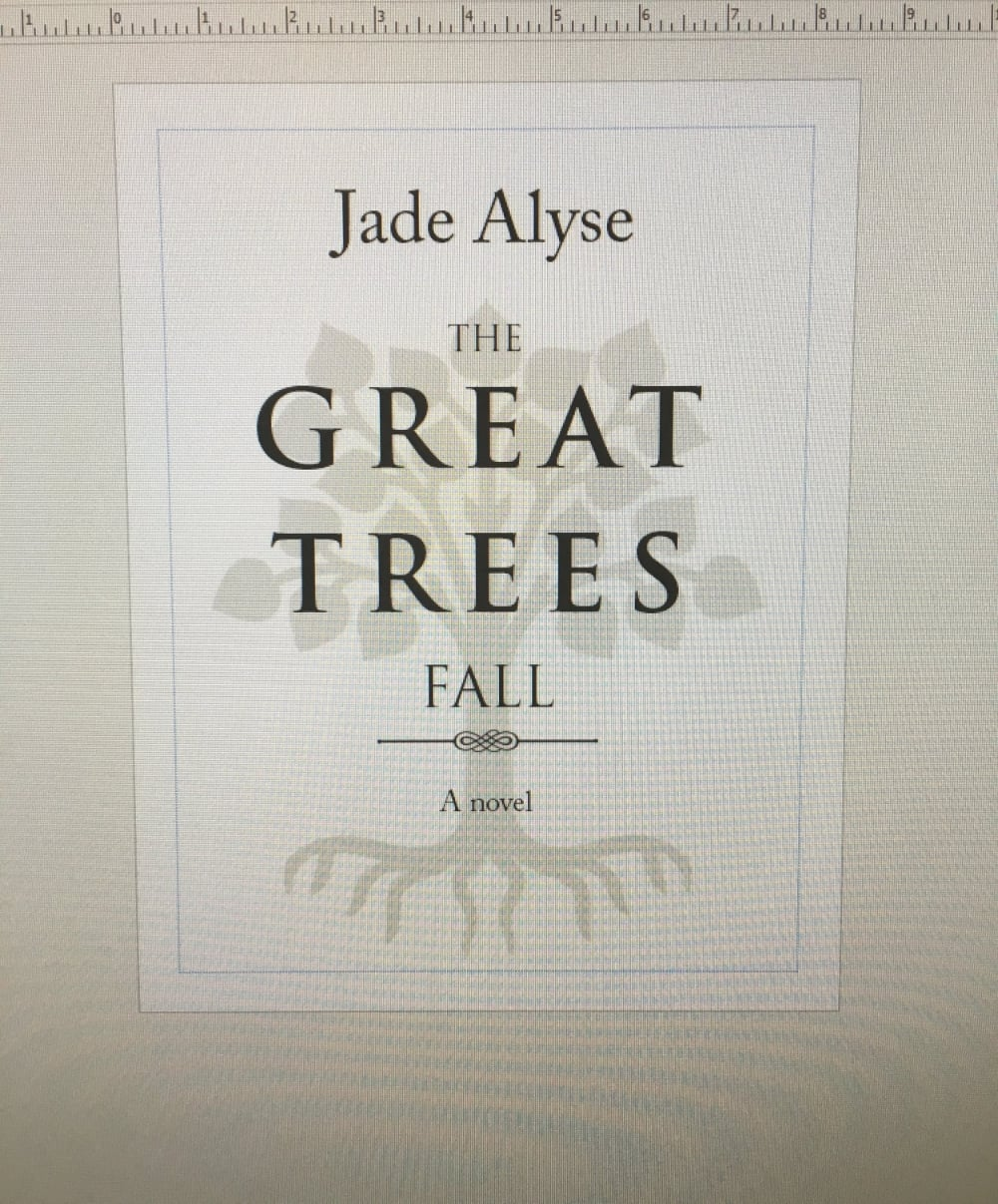 Copyright ©2016 Jade Alyse Writes
