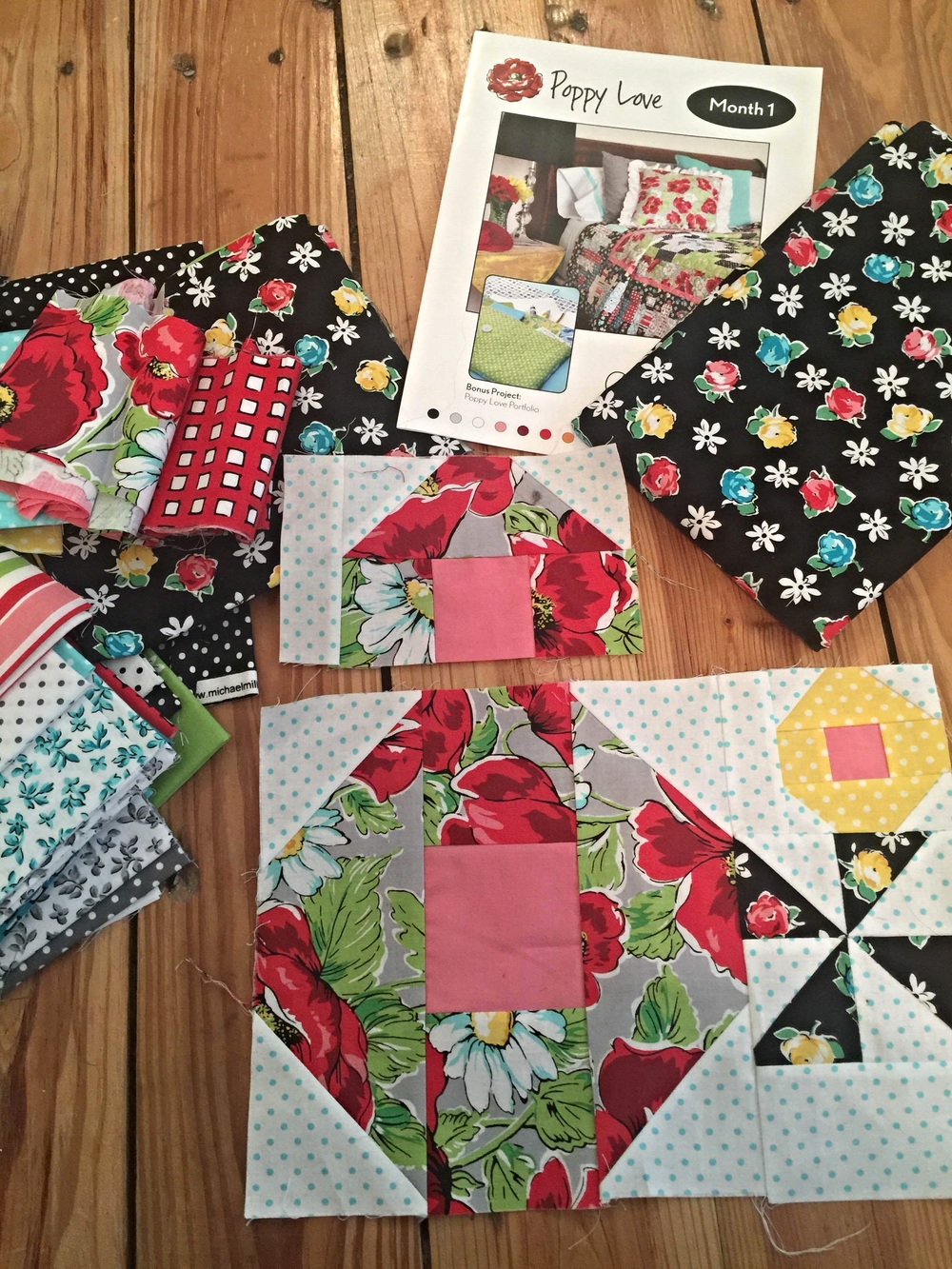 The Monthly (ha!) Quilt-a-long
