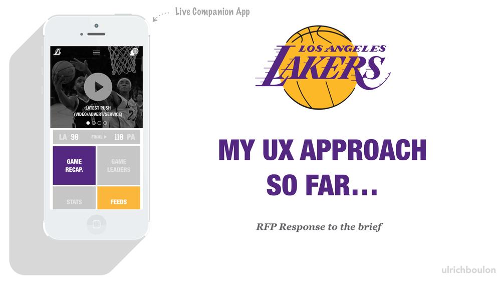 LA Lakers - Companion App RFP