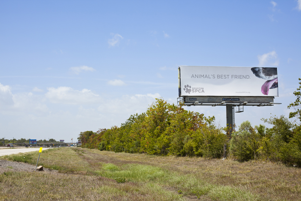Houston SPCA Billboard