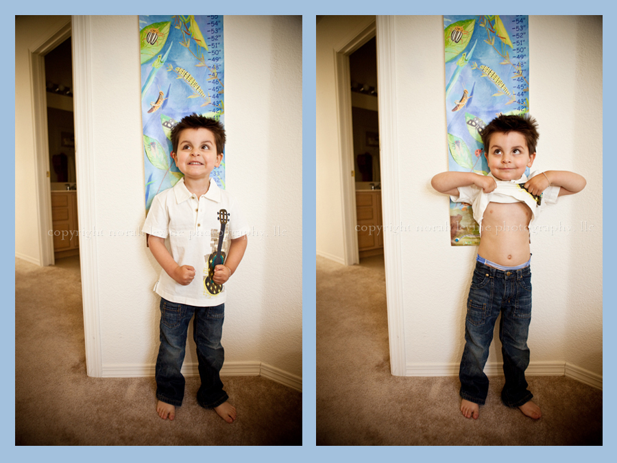 Two images of Boy