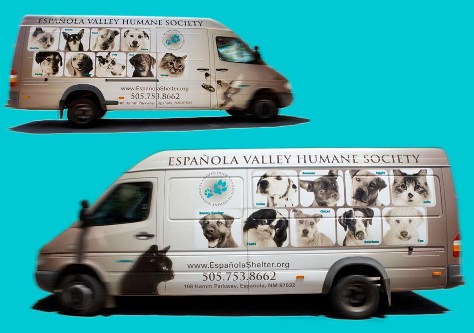 EVHS Transfer Van Both Sides