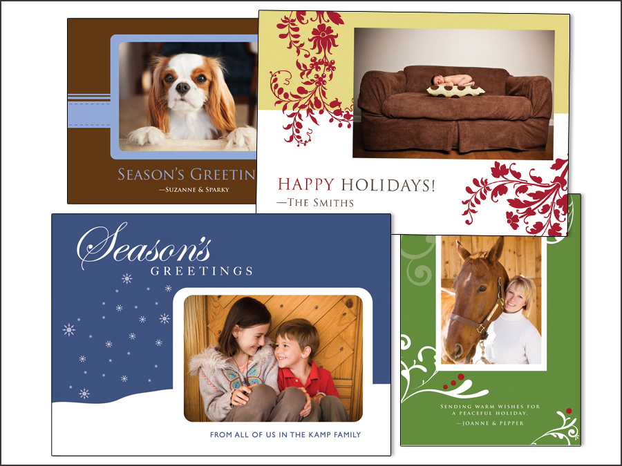 Holiday Photo Cards by Norah Levine Photography