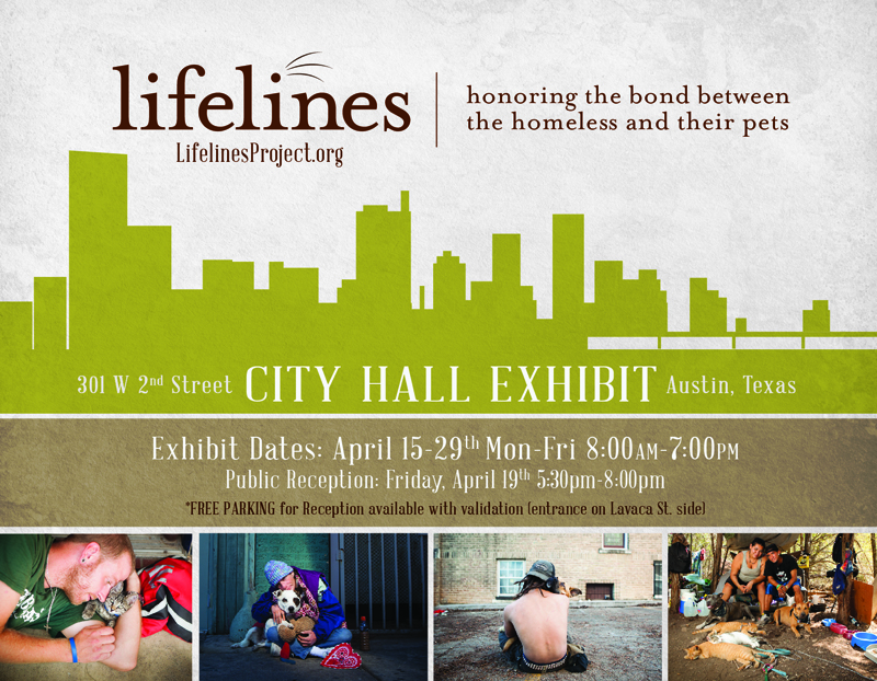 Lifelines, homeless and pets, austin, texas, dogs, non-profit,
