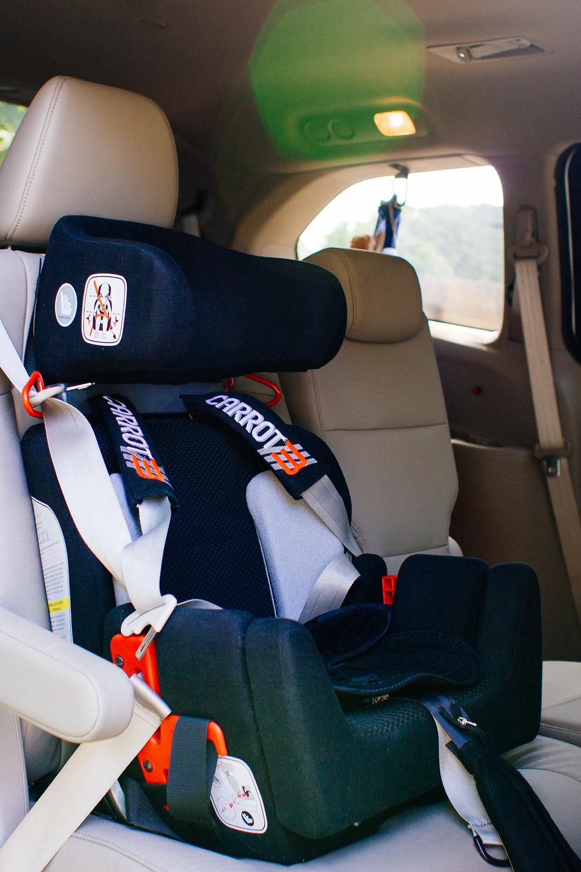 Testing Car Seats At  Mph