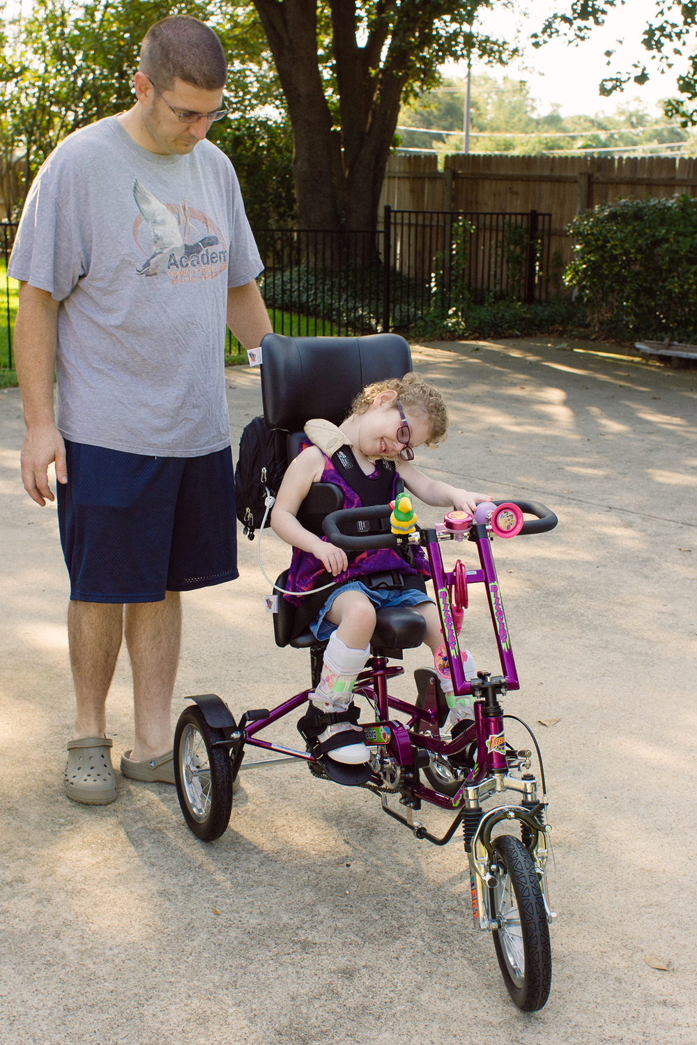 Special Needs Tricycle The Big Reveal Caleigh S Corner