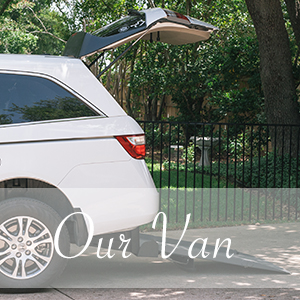 Rear Entry Short Cut Wheelchair Ramp Van Vision, Braun, Honda Odyssey