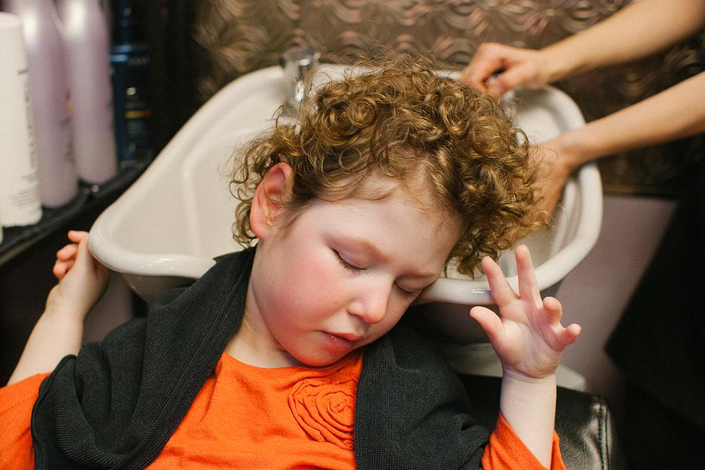 DevaCurl Haircut via Caleigh's Corner