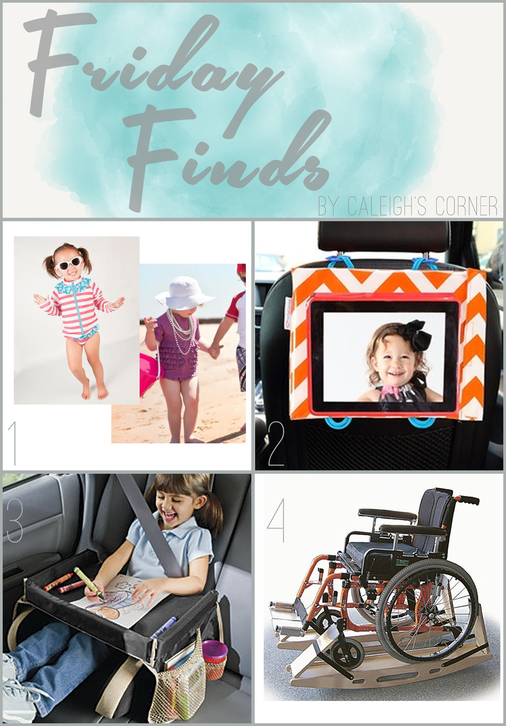 Special Needs Friday Finds via Caleigh's Corner