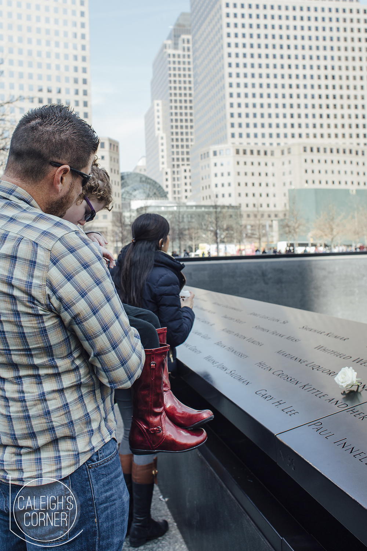 Hello New York City - Day 1 via Caleigh's Corner World Trade Center