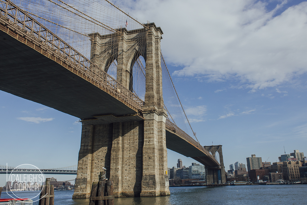 Hello New York City - Day 1 via Caleigh's Corner Brooklyn Bridge