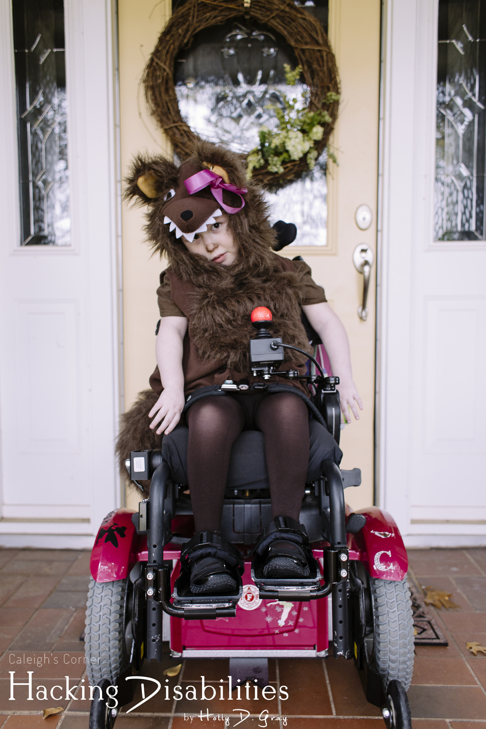 Little Hairy Dog Costume via Hacking Disabilities