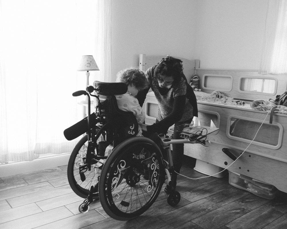 Harnessed,The Caregiver Project via madeofgray.com