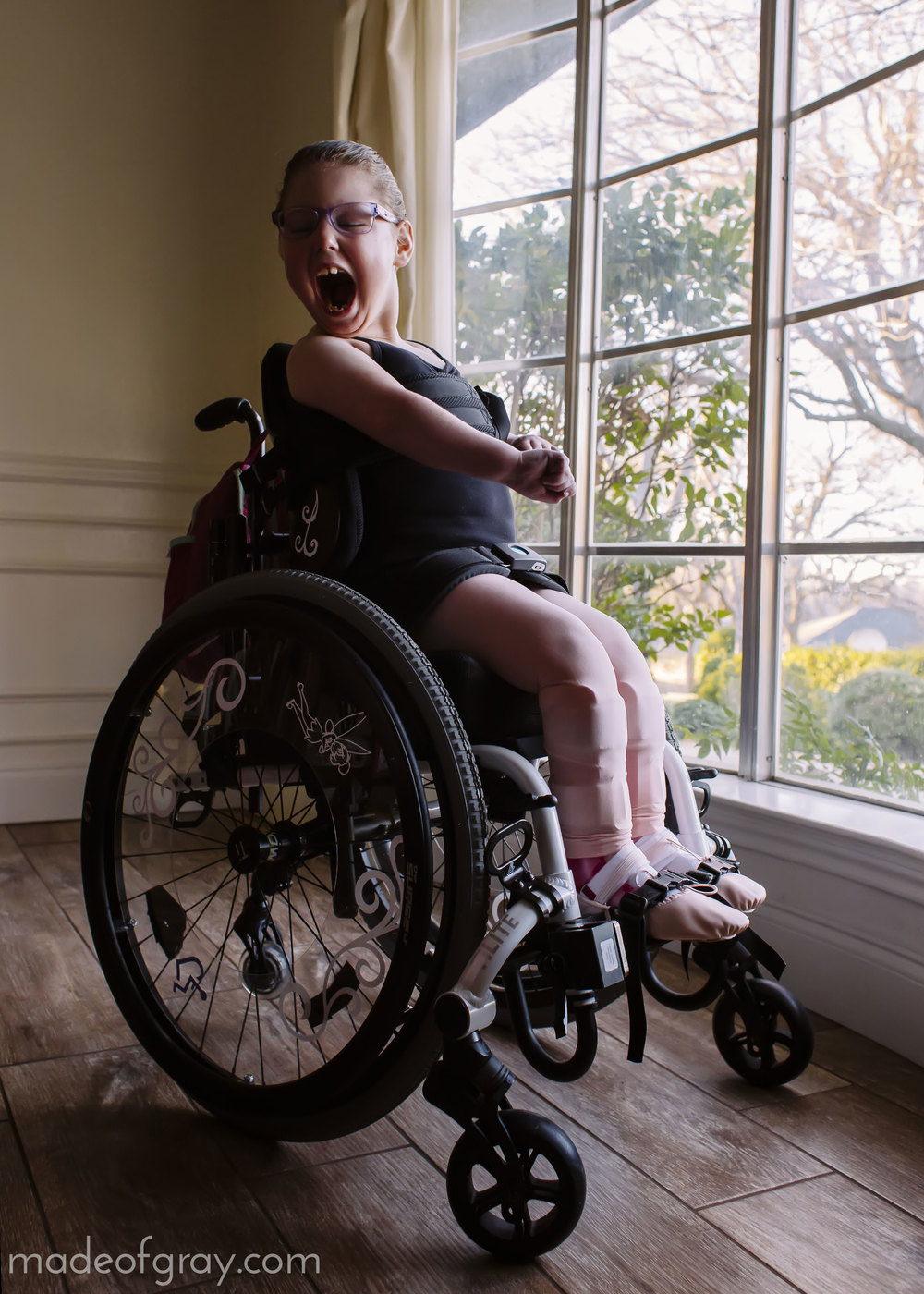 Inclusive Ballet for Children with Special Needs via madeofgray.com