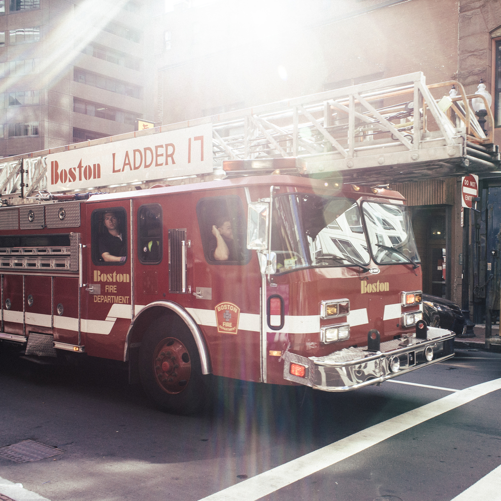 Boston Fire Department Ladder 17 via madeofgray.com