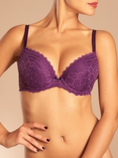 Normal    0                false    false    false       EN-US    X-NONE    X-NONE                                                                              Chantelle Merci Push-up    Everyday lace inspired by lotus flowers with low cut, plunge neckline for a sexy silhouette. Removable push up padding in all sizes with soft stretch lace overlay with a floral motif.    Sizes: C-E | 32-38
