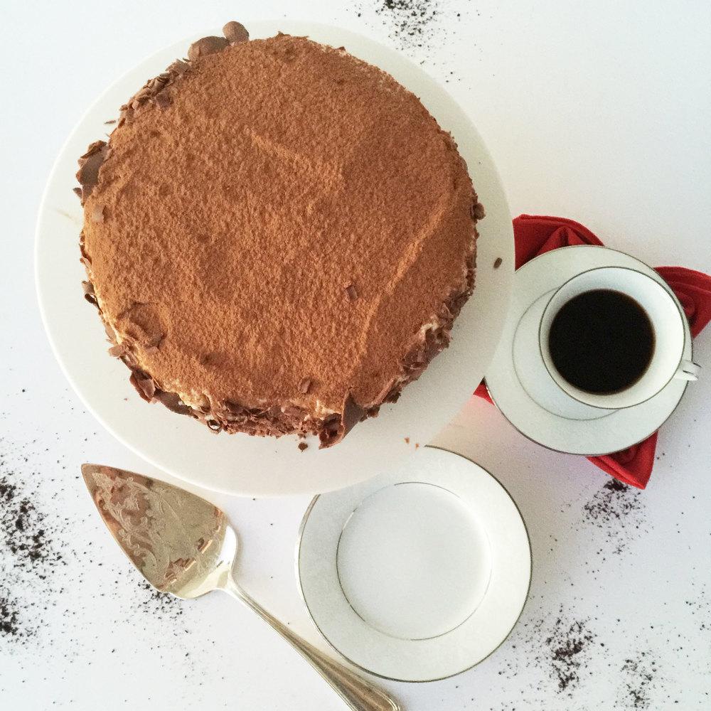 Tiramisu || Haute in Paradise || Birthday Cake