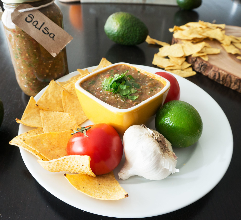 Tomatillo Salsa || Haute in Paradise || @hauteinparadise
