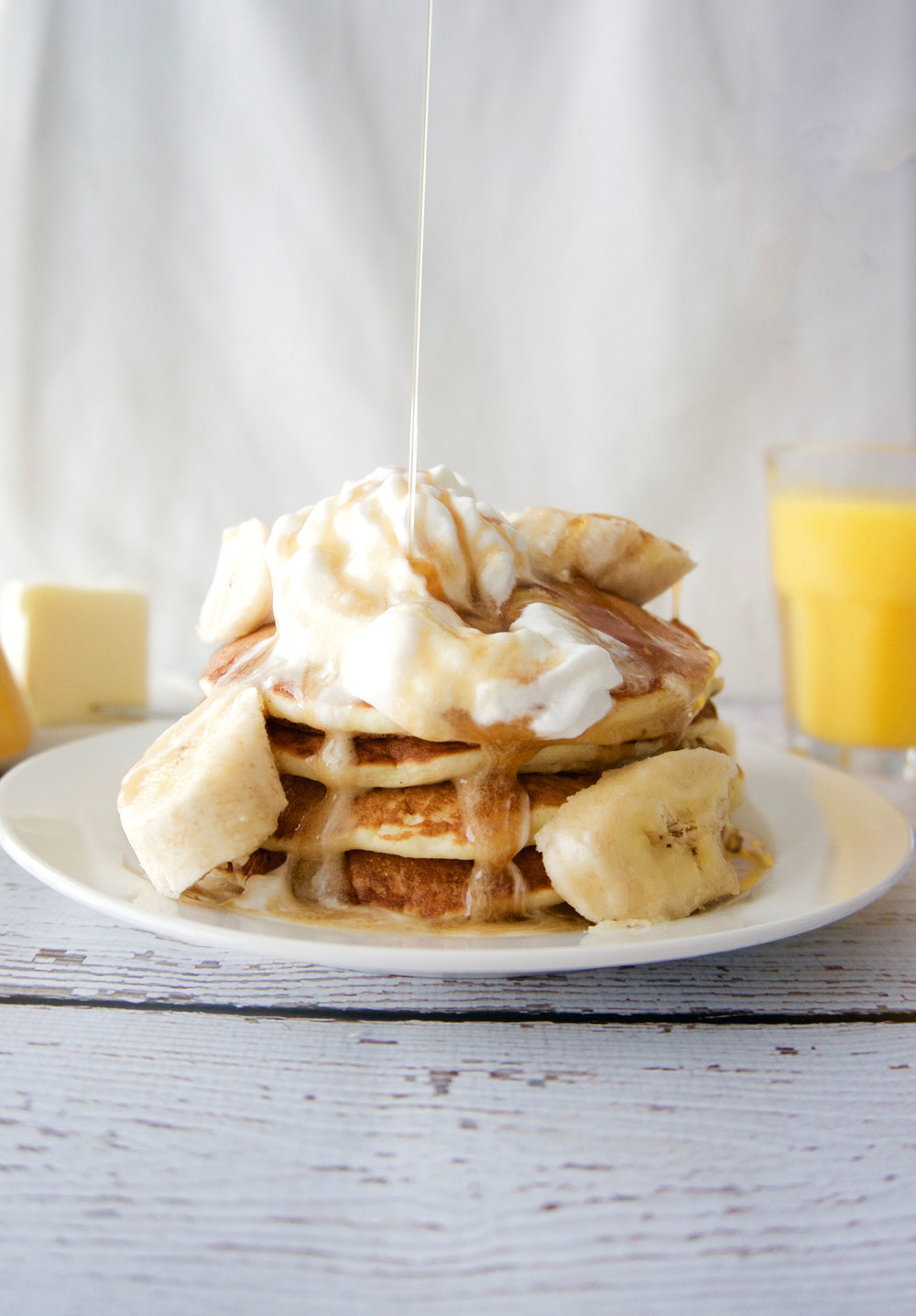 Banana Pancakes || Haute in Paradise || @hauteinparadise