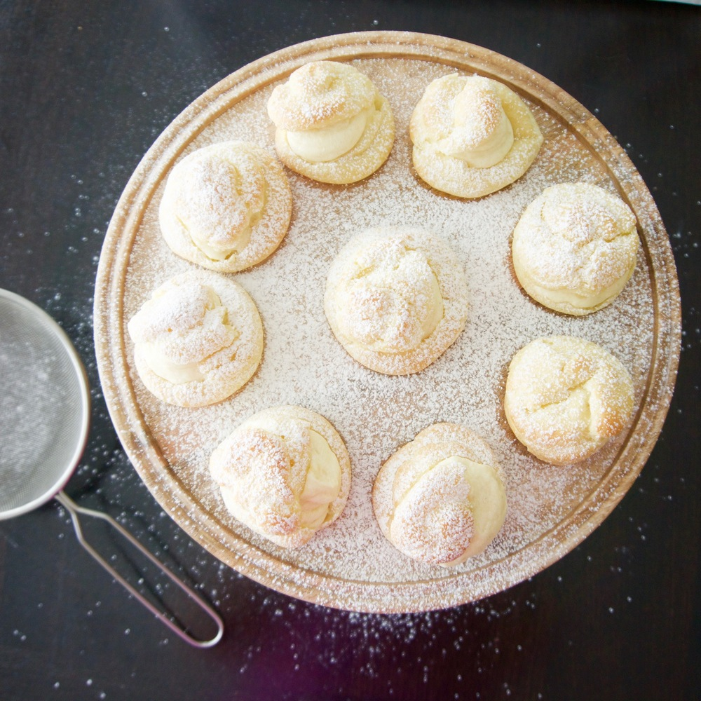 Cream puffs || Haute in Paradise || @hauteinparadise