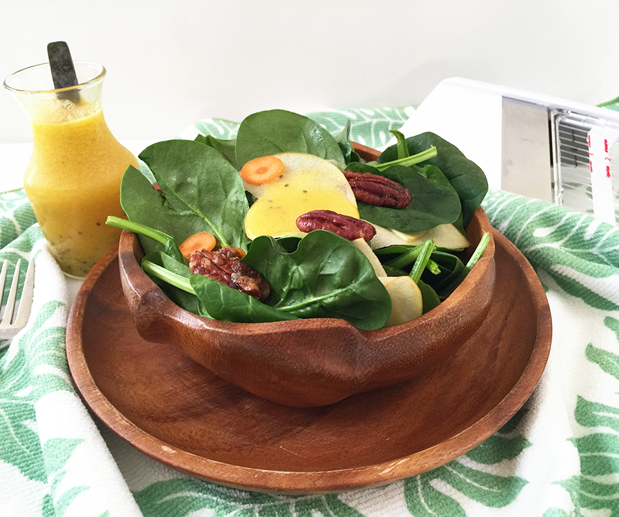 Lilikoi Chia Seed Salad Dressing || Haute in Paradise || @hauteinparadise