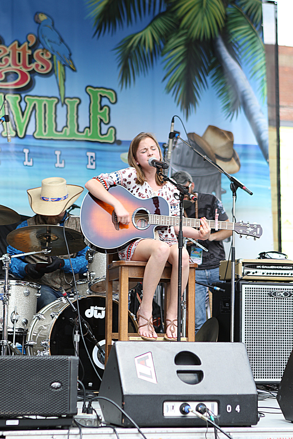 Margaritaville Nashville Street Party 2016