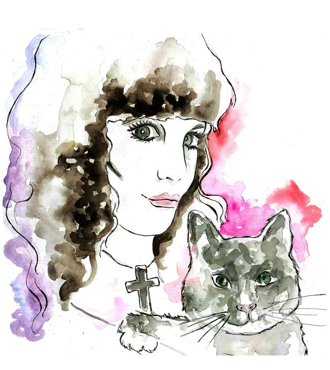Self portrait by Lacee Swan