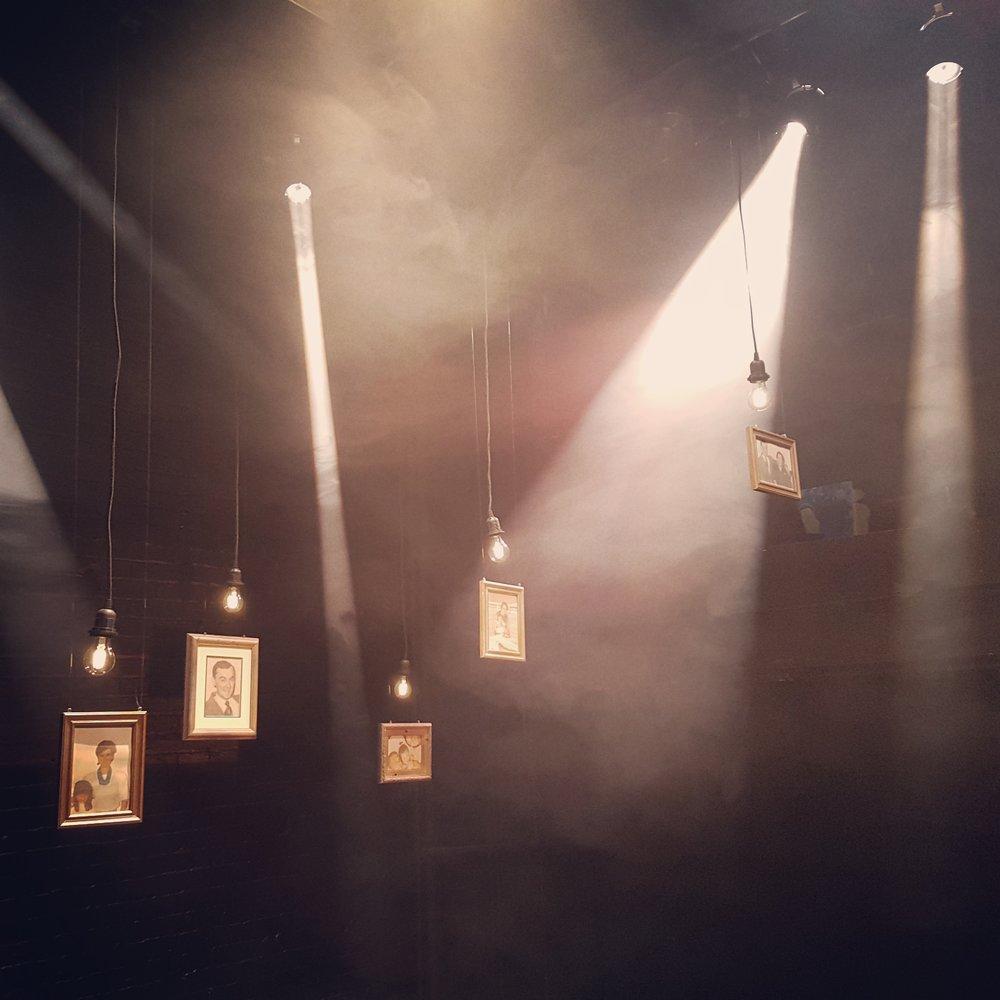 Set & lighting design for   Everybody Dies In December     Feb 2019