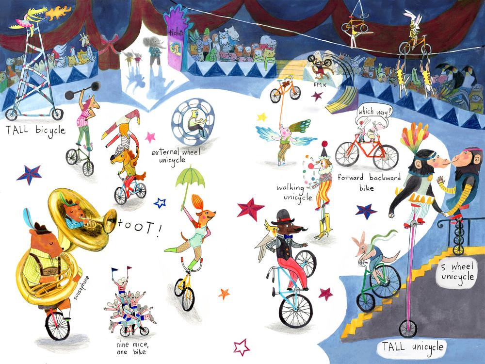 cycle circus