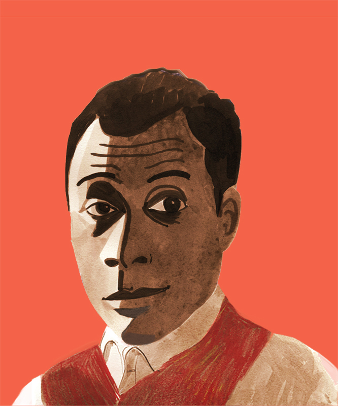 James Baldwin for Illustrated Impact