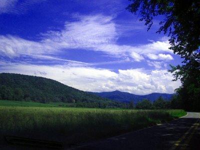 Mountains of North Carolina.