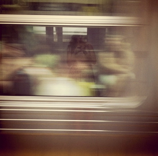 New York Subway Britney Fitzgerald