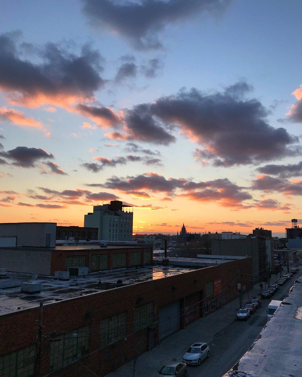britney-fitzgerald-brooklyn-sunset