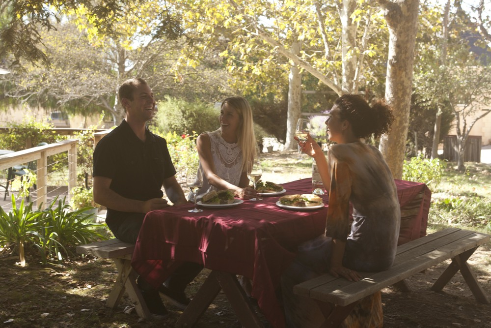 Santa Barbara Wine Tour :: Picnic in the vineyard :: Rooted Vine Tours :: Santa Barbara, California