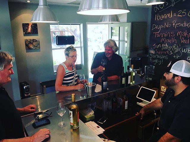 Thursday tasting @tercerowines  loving the #Grenache 🙌🏽 #wine #winery #winetour #bestwinetour #santabarbara #losolivos #bestsantabarbarawinetour #california #seesb #visitsyv