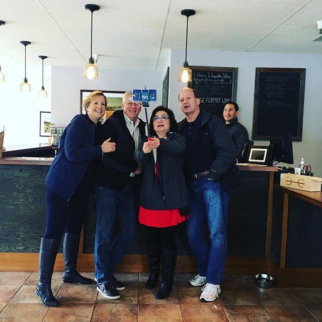 #flashbackfriday @dragonettewine #fbf #wine #selfie #santabarbara #seesb #visitsyv #winetasting #