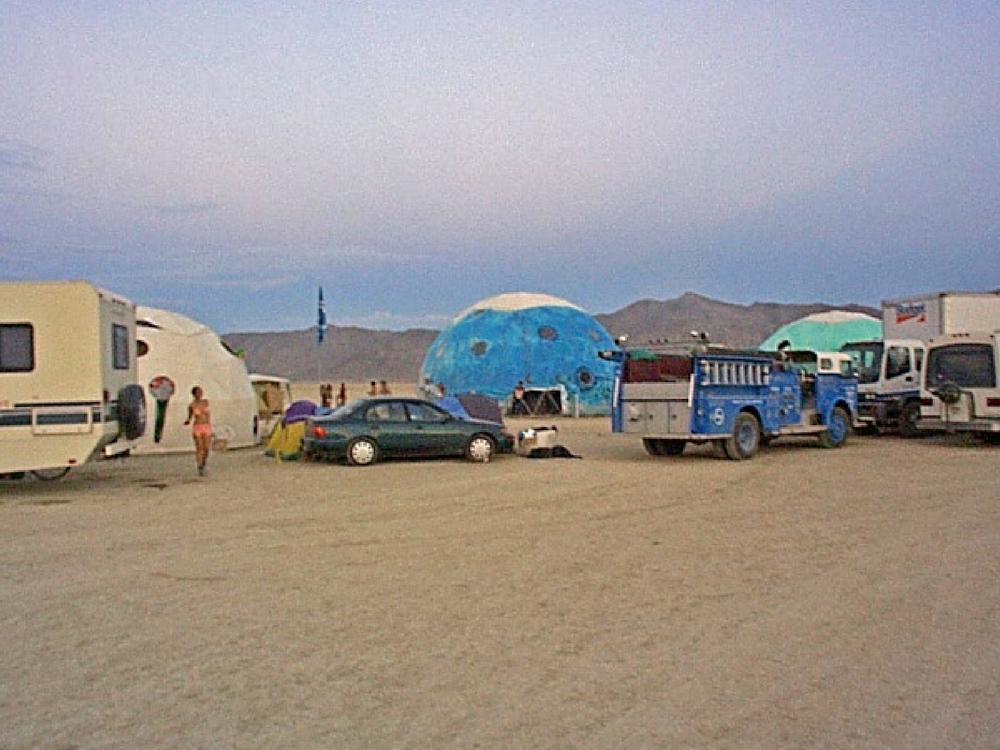 Blue Room at Burning Man