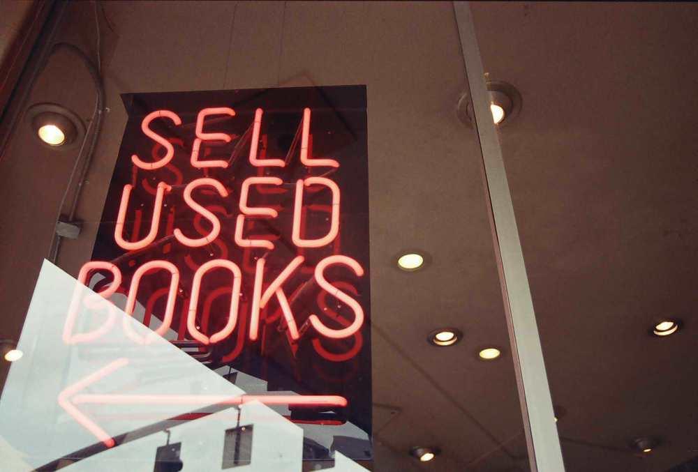 A bookshop in Portland