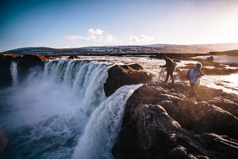 22. John Dale, Goðafoss.jpg