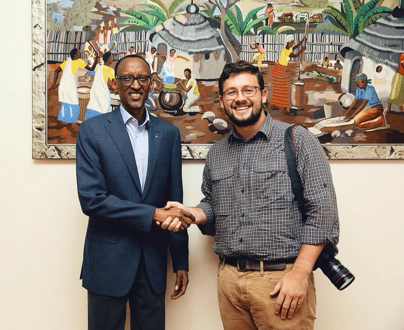 Meeting President of Rwanda